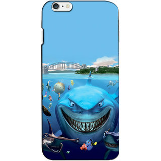 Instyler 3D Digital Printed Back Cover For Apple Iphone 6 Plus