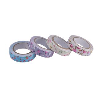 Saamarth Impex Beautiful Printing Colorful Decorative  Adhesive 4 Fabric Tape SI-2024