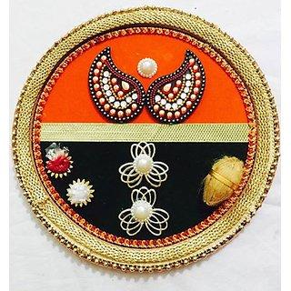 Maru Handmade diwali puja thali