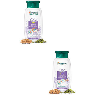 Himalaya Herbal Gentle Baby Bath - 200 Ml Pack Of 2