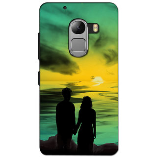 Instyler 3D Digital Printed Back Cover For Lenovo K4 Note