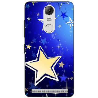 Instyler 3D Digital Printed Back Cover For Lenovo K5 Note