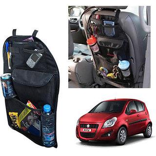 Car Back Seat Pocket-Storage Organizer Black Colour