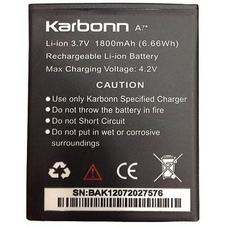 Karbonn Battery For Karbonn A7 star (Black)