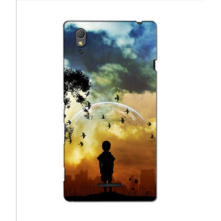 Instyler 3D Digital Printed Back Cover For Sony Xperia T3