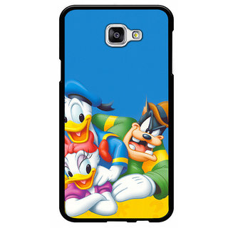 Instyler  Digital Printed Back Cover For Samsung Galaxy A7 (2016)