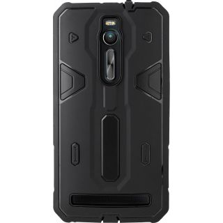 ZenFone 2 (ZE550ML) Case (Cubix) Armor Defender Cover Hybrid Tpu + PC Dual Layer Back cover For Asus ZenFone 2 (ZE550ML) (Black)