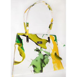 Imported designer printed ladies handbag