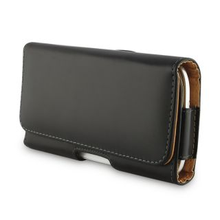 Leather Holster Carry Case Cover Pouch with Belt Clip for Samsung Galaxy S II HD LTE