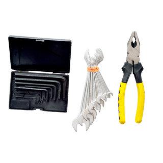 Visko 808 3 Pc Home Hand Tool Kit (18 Tools).