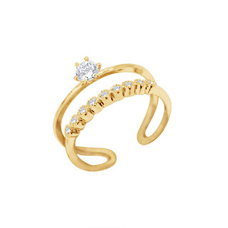 Simaya Fashion brings Gold Plated Ring for Women -FR 0022