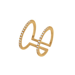 Simaya Fashion brings Gold Plated Ring for Women -FR 0030