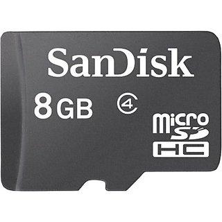 Maruti  Sandisk 8GB  Memory Card Black