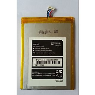 100 Original A300 Mobile Battery for  Micromax Canvas Gold A300 2300 mAh
