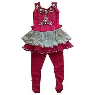 Cute Fashion Kids Girls Baby Party Wear