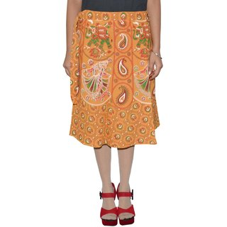 Gurukripa ShopeePrinted Women's Wrap Around Skirts GKSWCK-A0307