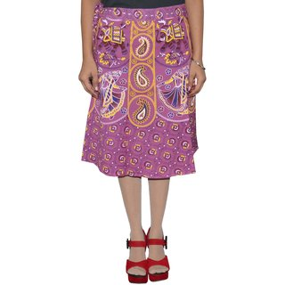 Gurukripa ShopeePrinted Women's Wrap Around Skirts GKSWCK-A0310