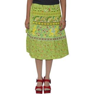 Gurukripa ShopeePrinted Women's Wrap Around Skirts GKSWCK-A0316