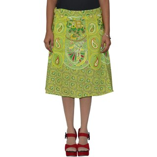 Gurukripa ShopeePrinted Women's Wrap Around Skirts GKSWCK-A0318