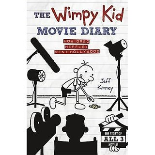 The Wimpy Kid Movie Diary How Greg Heffley Went Hollywood (English) (Hardcover, Jeff Kinney)