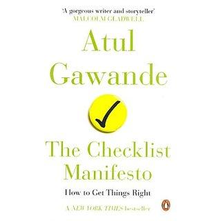 Checklist Manifesto (English) (Paperback, Gawande, Atul)