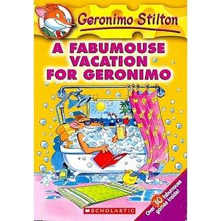 A Fabumouse Vacation For Geronimo (English) (Paperback, Geronimo Stilton)