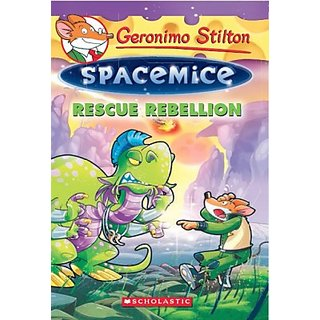 Geronimo Stilton Spacemice #5  Rescue Rebellion (English) (Paperback, Geronimo Stilton)