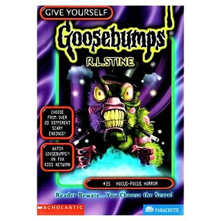 Goosebumps Hocus Pocus Horror (English) (Paperback, R L Stine)