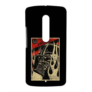 Vader Stamp Phone Cover for Moto X play by Block Print Company