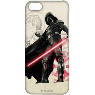 Vader Sketch Phone Cover for iPhone 4 by Block Print Company
