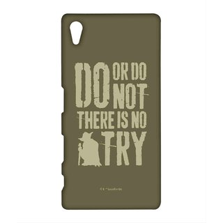 Yoda Theory Phone Cover for Sony Z5 by Block Print Company