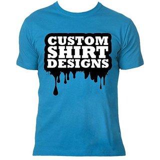 Custom Design Tshirt Blue