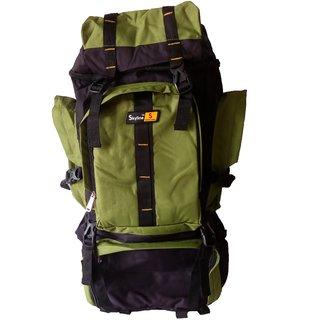 Skyline Green Hiking/Trekking/Travelling/Camping Backpack Bag Rucksack Unisex Bag With Warranty-2406