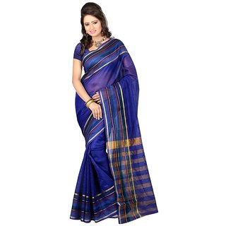 Multi  Cotton Silk Saree For Women