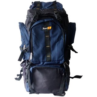 Skyline Blue Hiking/Trekking/Travelling/Camping Backpack Bag Rucksack Unisex Bag With Warranty-2406