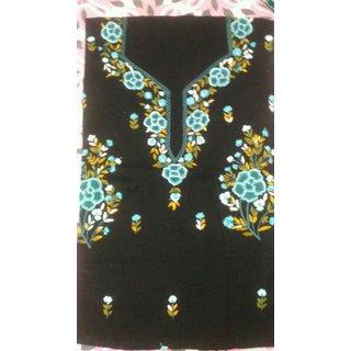 Kolkata Clothier Nakshi Kantha  French Knot Hand Embroidered Kurti Material