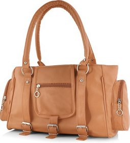 Tan Coloured Chhavi Casual Handbag (A73)