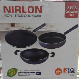 Nirlon Nonstick Cookware Set