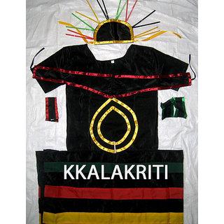 Tribal Boy Traditional Nagaland Fancy Dress Costume For Kids