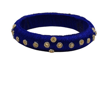 DRA Silk Dori Bangles set  pack of 2 For Women