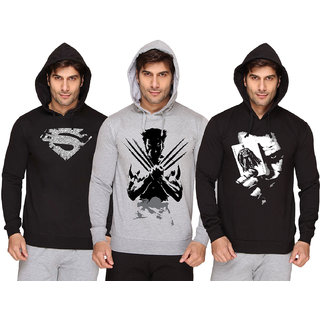 SayItLoud Men's Printed Hoodie Combo
