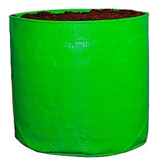 HDPE Grow bag 5 nos Size 12 x 12 Inch ( 1 x 1 feet) Terrace/Kitchen Garden