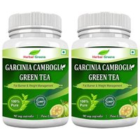 HerbalGreens Garcinia Cambogia Green Tea 500mg Extract- - 97478679