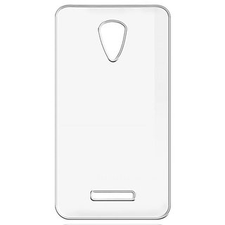 Buy Soft Transparent Back Cover for Vivo Y11 with USB Travel Charger