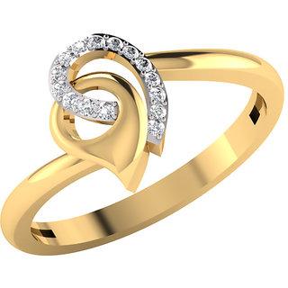 Mani Jewel 14Kt Gold & 0.07 Cts Certified Diamond Rings (Design 2)