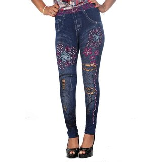 GGI Denim Ruff Legging