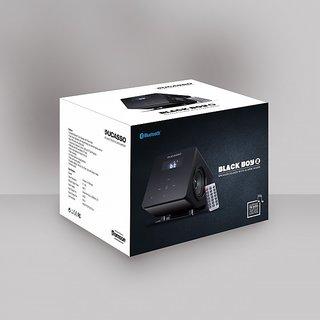 reputable site d7e52 bc866 Ducasso Black Boy 2 DMS3012BT Clock Bluetooth Speaker with FM Recording,  (Black)