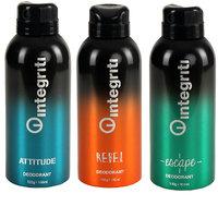 INTEGRITI Multicolor Pack of 3 Deodorant