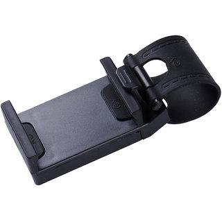 Spartan Black Steering Mount Car Mobile Holder