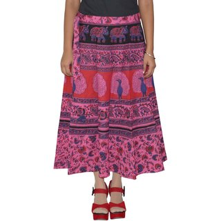 Gurukripa Shopee  Printed Women's Multicolor Wrap Around Skirts GKSWCC-A0153
